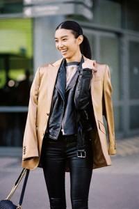 Kožna jakna i čizme