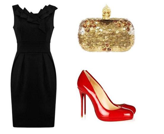Crvene cipele i klasični stil