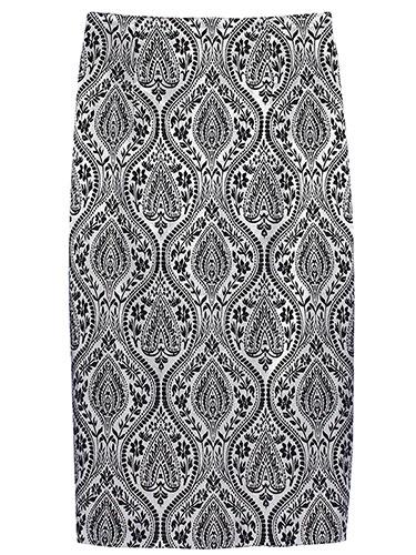 Olovka suknja za visoke