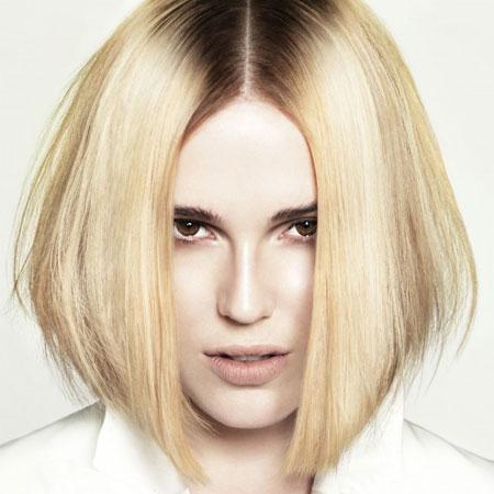 Ravna bob frizura