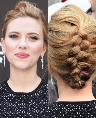 Scarlett Johannson frizura