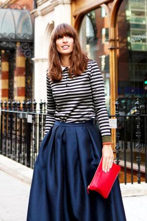 Laskave široke suknje