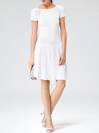 Sportska bela haljina