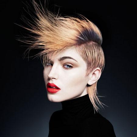 Moderna mohikanac frizura