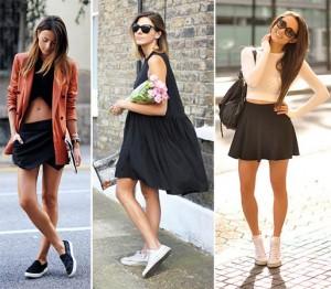 Koje patike možete nositi sa haljinama