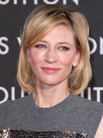 Slojevita bob frizura – Cate Blanchett