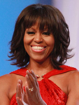 Duži bob sa šiškama – Michelle Obama