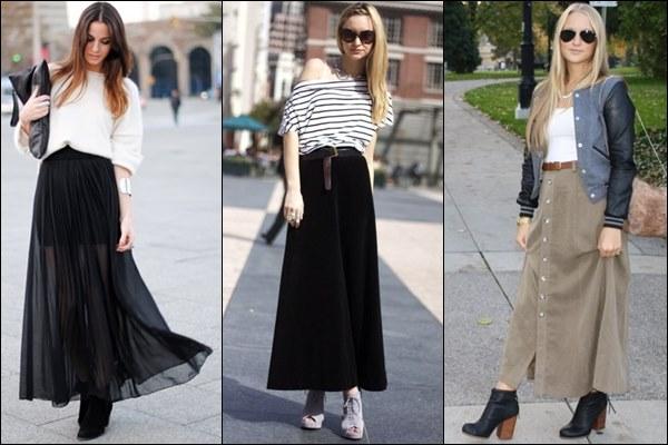 Čizmice do članka sa dugom suknjom