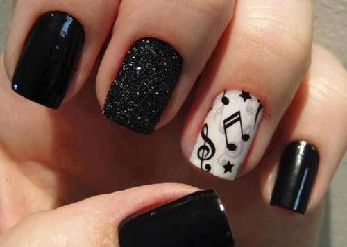 Nokti inspirisani muzičkim motivima