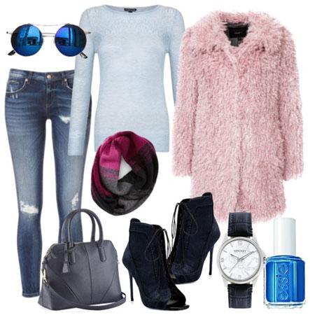 Zimski outfit sa bundom