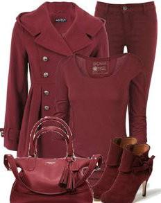 Burgundy boja