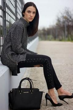 kombinacije sa pletenim džemperima