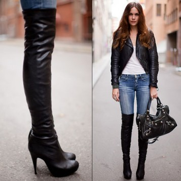 čizme iznad kolena