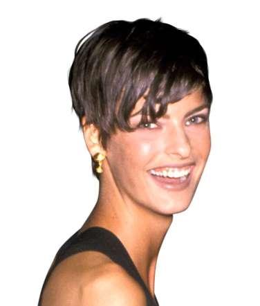Linda Evangelista frizura