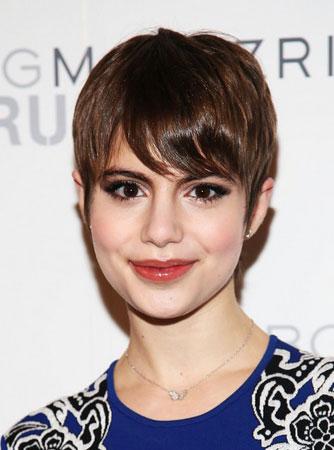 Kratka frizura sa šiškama