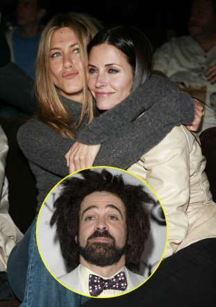 Jennifer Aniston i Courteney Cox