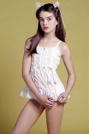 Brooke Shields  kao tinejdzer