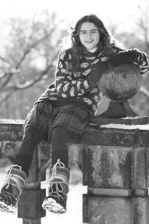 Helena Bonham Carter kao tinejdzer