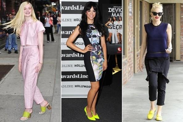 Nabavite neon žute cipele