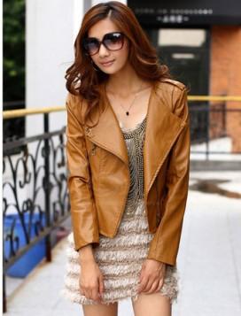 Kožne jakne za prolece 2015