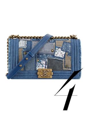 Chanel teksas torba