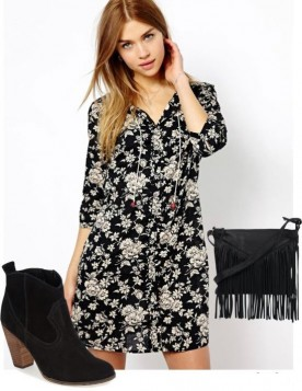 Letnje haljine sa cvetnim printom
