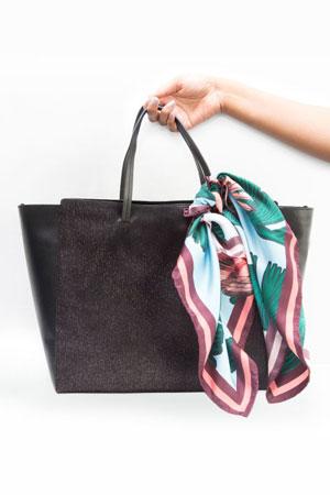 svilena marama i torba