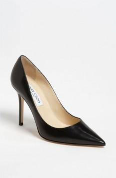 crne visoke potpetice