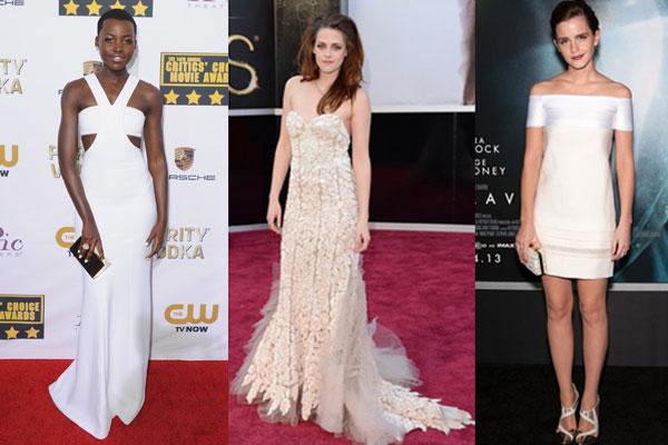 Maturske haljine u beloj boji