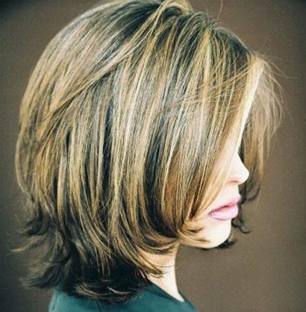 bob frizura u stilu 80-tih