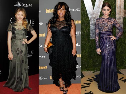 Maturske haljine u tamnoj boji