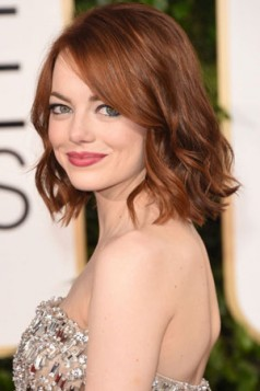 copper red Emma Stone