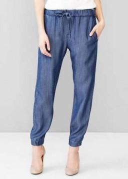 joggers pantalone na vezivanje