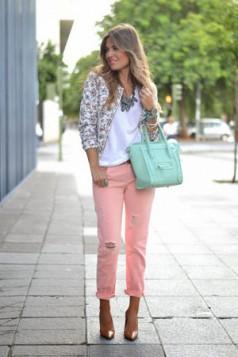 jakna sa cvetnim printom