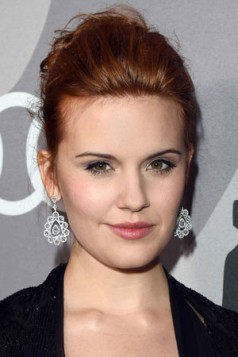strawberry red Maggie Grace