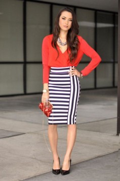 suknja sa prugama