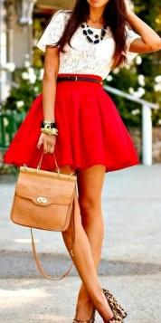 tan boja uz crveno i leopard print