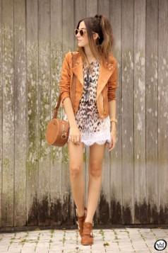 bluza sa leopard printom