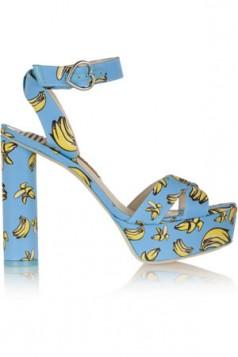 sandale sa banana dezenom