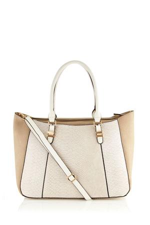 torba u belo roze boji