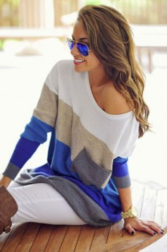 off the shoulder tunika