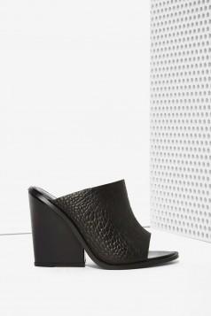 crne kozne papuce