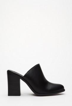 crne elegantne papuce