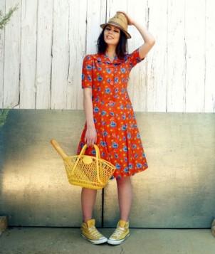 haljina sa cvetnim printom