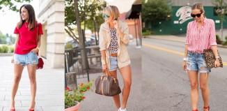 Moderne kombinacije sa teksas šortcem