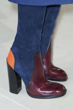 colorblocking cizme iznad kolena