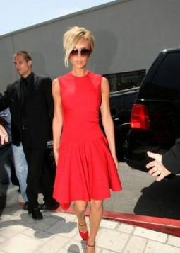Kim Kardashian u crvenoj haljini