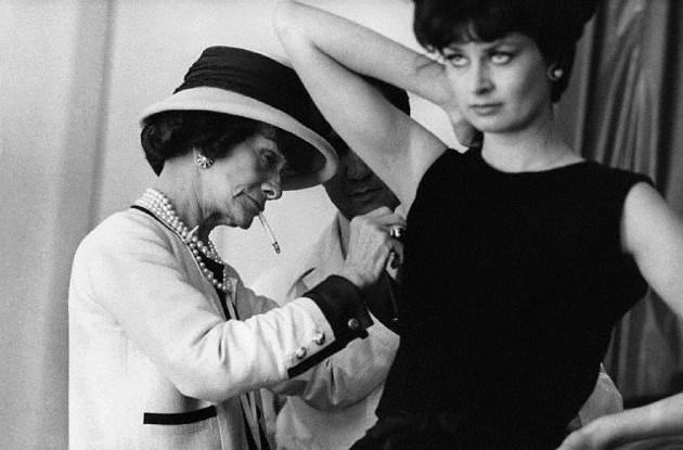 Coco Chanel i mala crna haljina