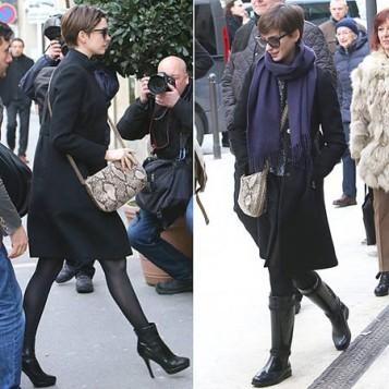 Anne Hathaway nosi torbu sa zmijskim printom