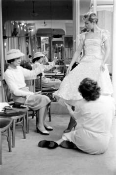 Coco Chanel na svom radnom mestu